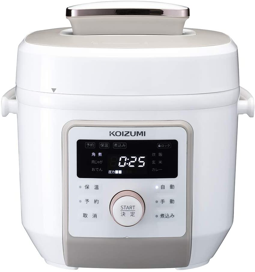 KOIZUMI(コイズミ)マイコン電気圧力鍋 KSC-4501の商品画像