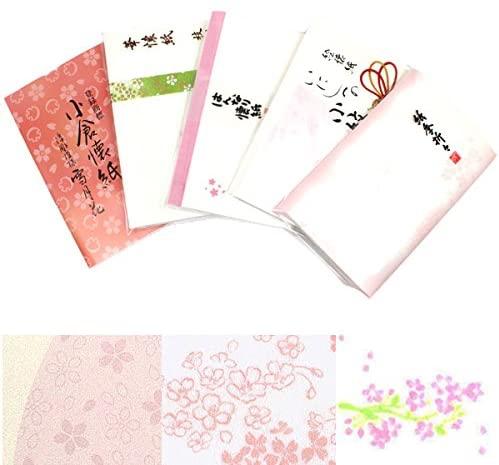 ほんぢ園(ホンヂエン) 桜懐紙セット 懐紙5帖 000-kaisiset-sakuraの商品画像
