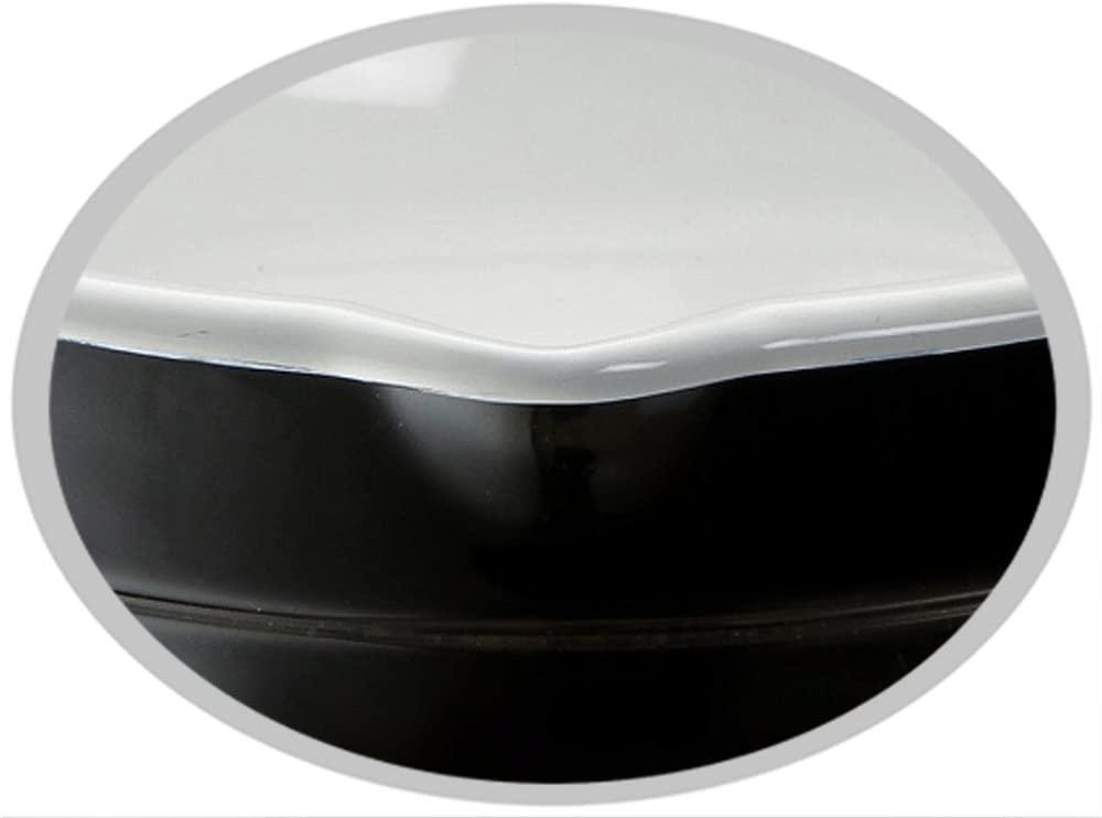 高木金属(タカギキンゾク) ホーロー天ぷら鍋 24cm ブラック&ホワイト TP-24R-BWの商品画像3