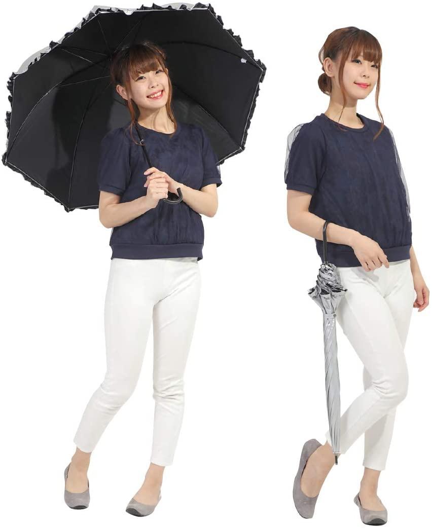 オカモト原宿店(オカモトはらじゅくてん) 晴雨兼用 日傘 ドーム型の商品画像6