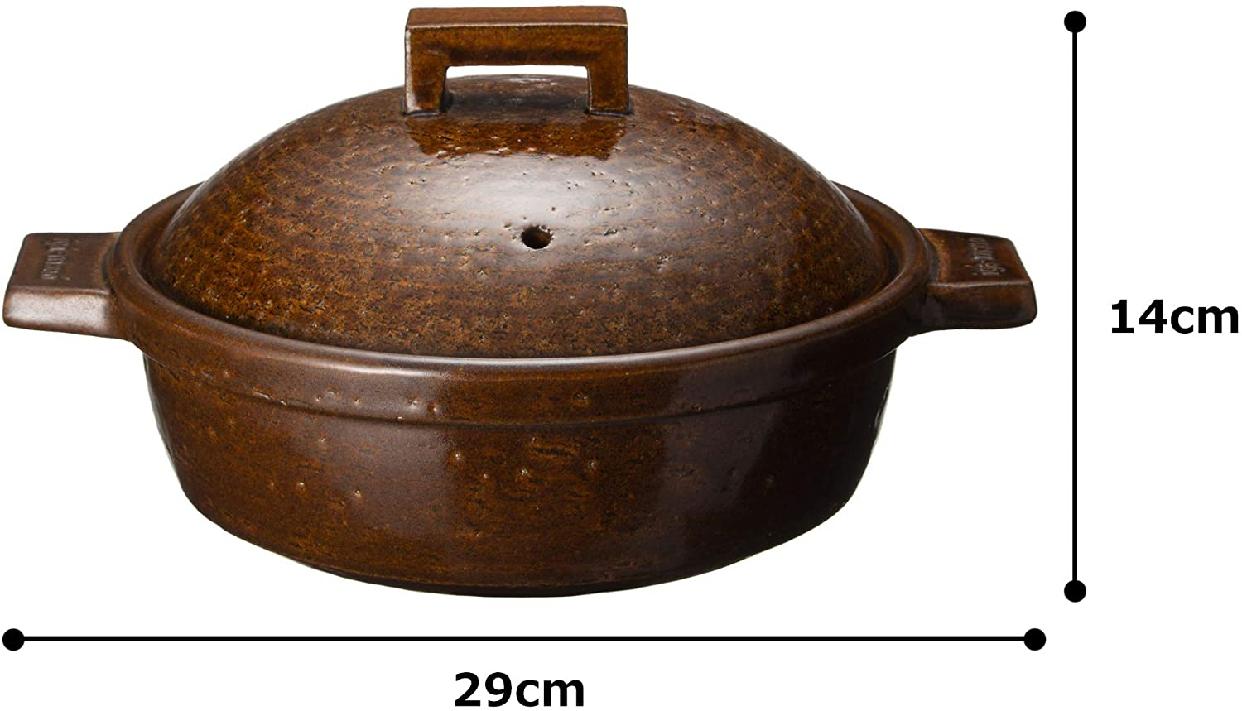 長谷園 ビストロ蒸し鍋  NCK-25の商品画像6