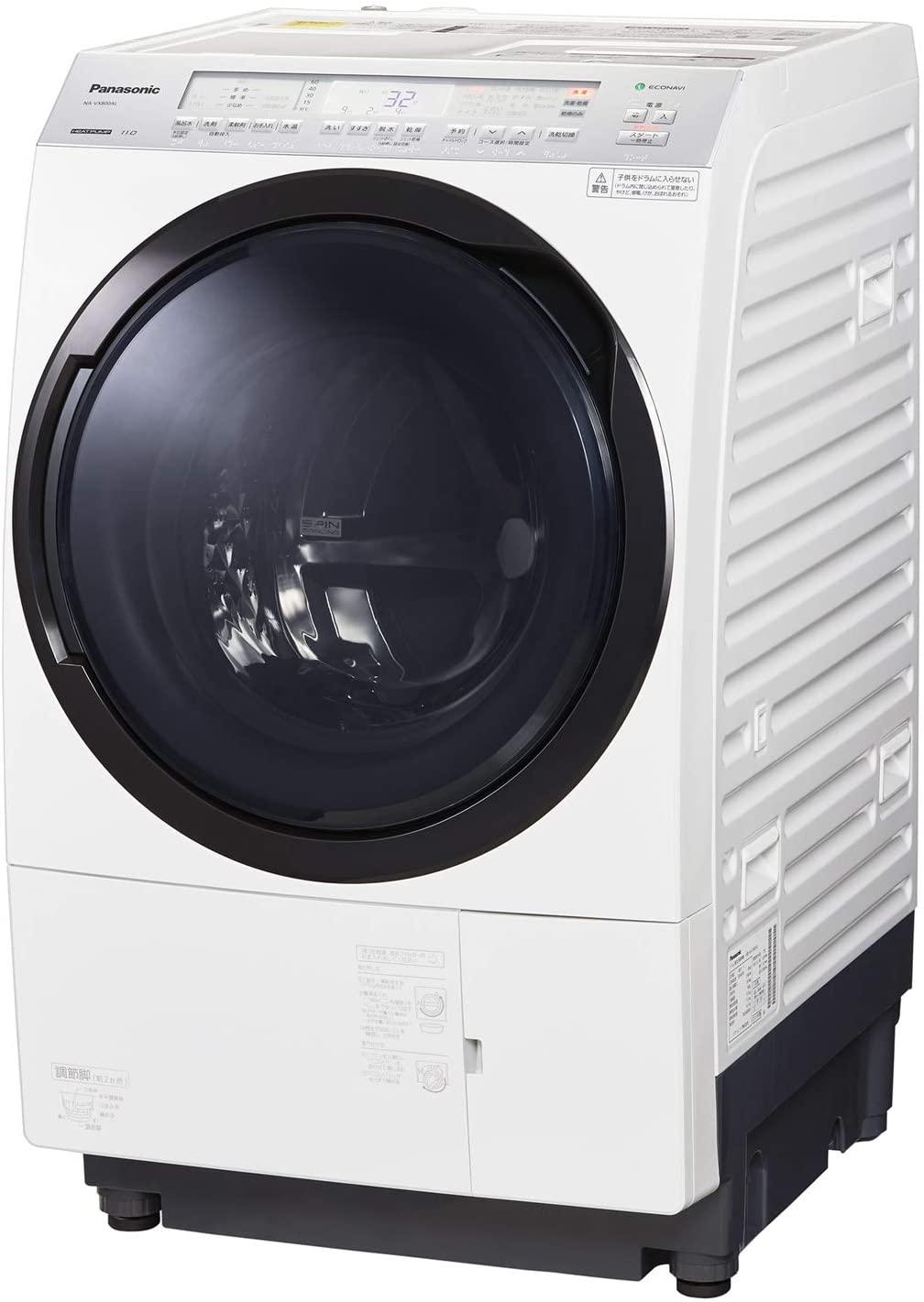 Panasonic(パナソニック) ななめドラム洗濯乾燥機 NA-VX800A