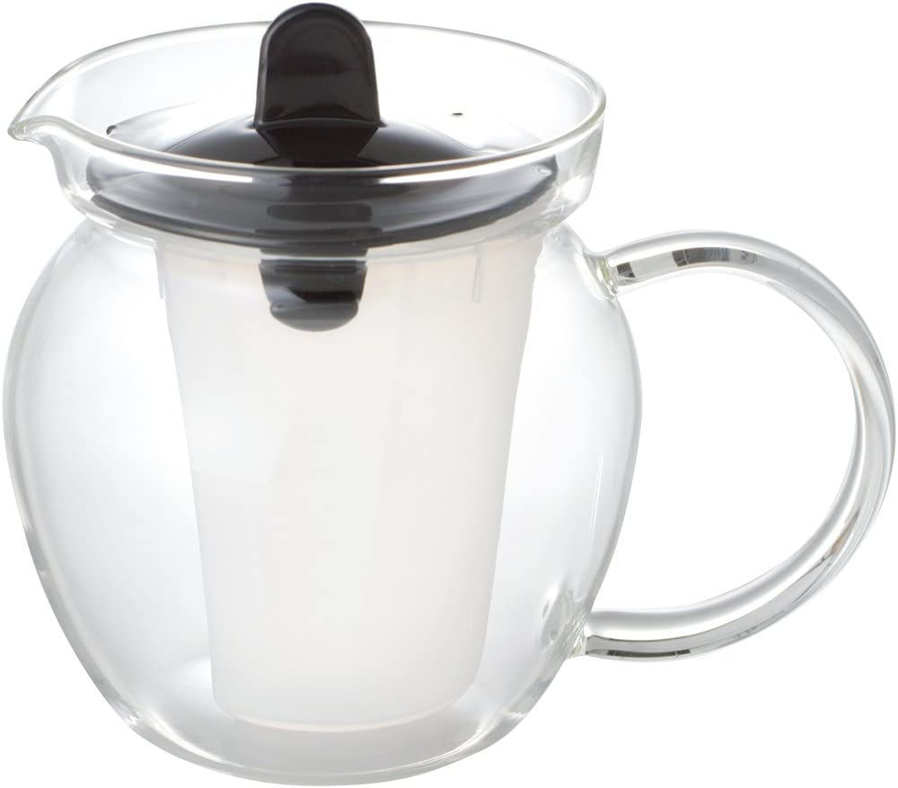 iwaki(イワキ) お茶ポット 480ml ブラック K853T-BKの商品画像