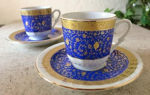 Gural Porseren(ギュラルポルセレン) ゴールデンホーン デミタスコーヒーカップ&ソーサー2客セットの商品画像4