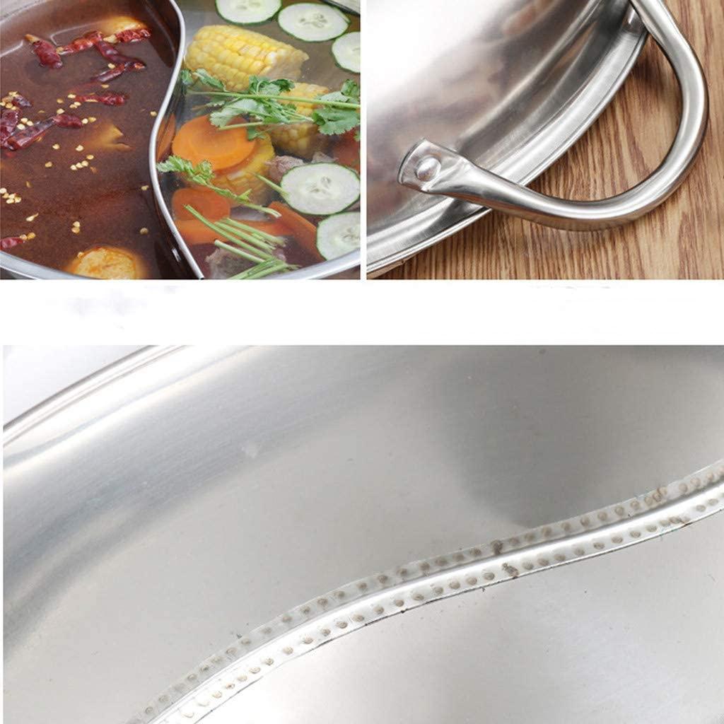 amleso(アムレソ)両手鍋 仕切り 二食鍋 28cmの商品画像4