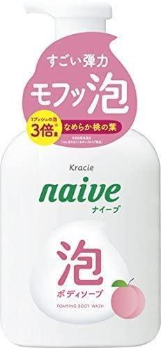 naive(ナイーブ) 泡で出てくるボディソープ 桃の葉エキス配合の商品画像