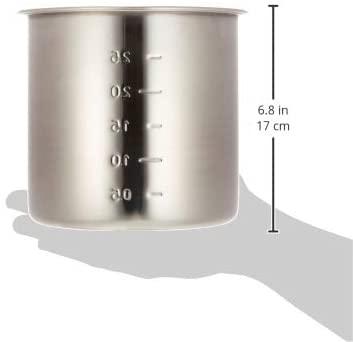 江部松(EBM) 18-8 寸胴鍋・キッチンポット(目盛付)16cm 手無の商品画像6
