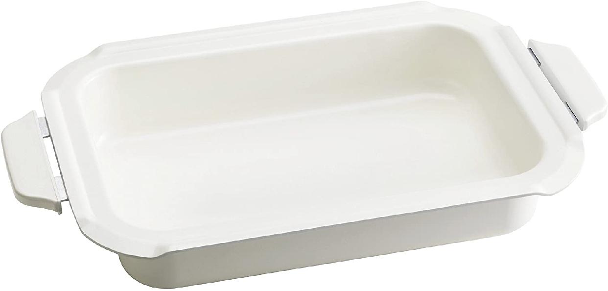 BRUNO(ブルーノ) コンパクトホットプレート用セラミックコート鍋の商品画像