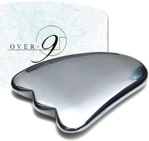 OVER-9(オーバー ナイン)テラヘルツ鉱石 かっさ 羽型の商品画像