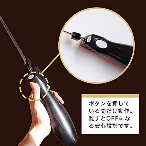 THANKO(サンコー) 充電式コードレス電動肉&パン切り包丁「エレクトリックナイフ」 ブラックの商品画像7