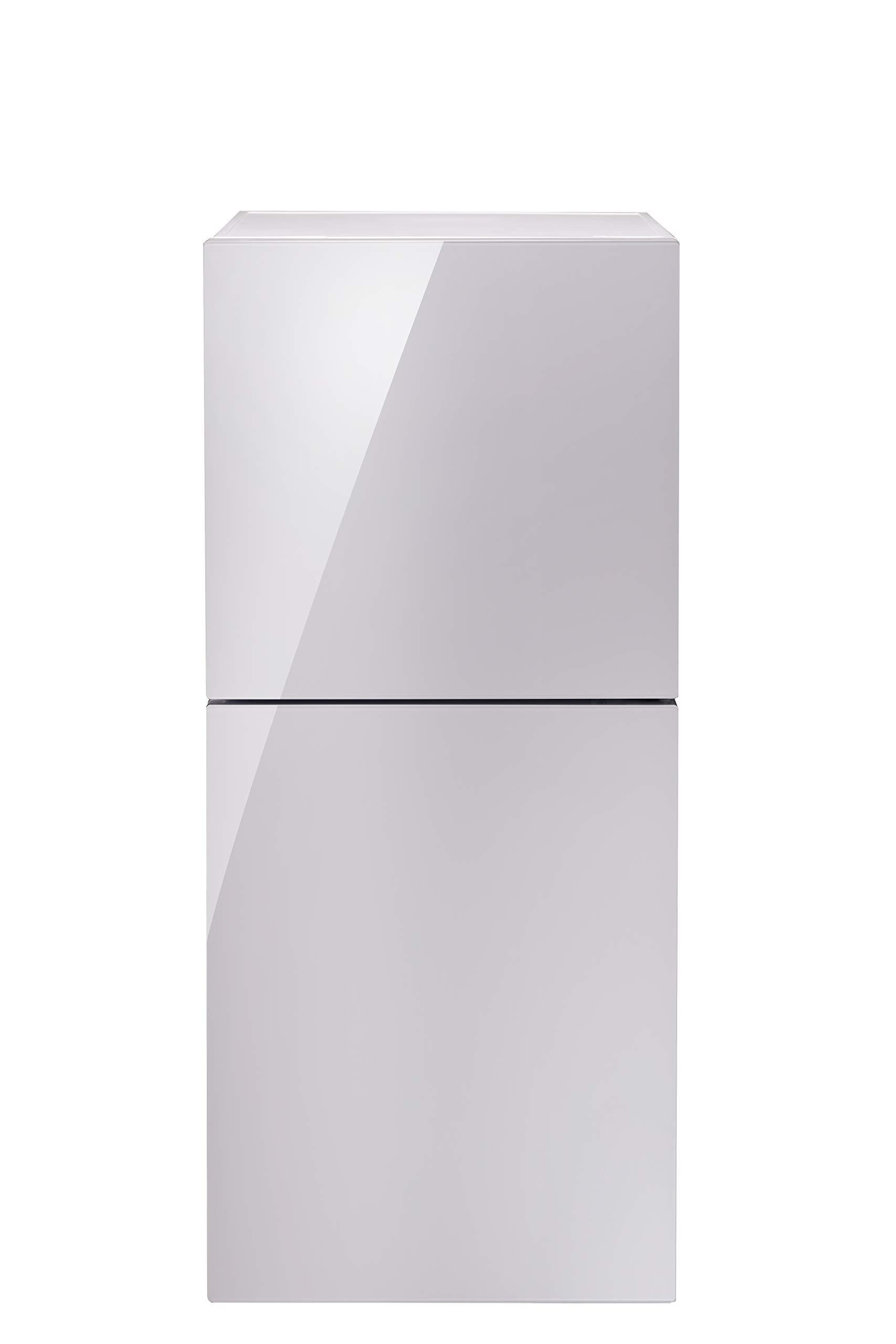 TWINBIRD(ツインバード) 2ドア冷凍冷蔵庫 ハーフ&ハーフHR-E915PWの商品画像