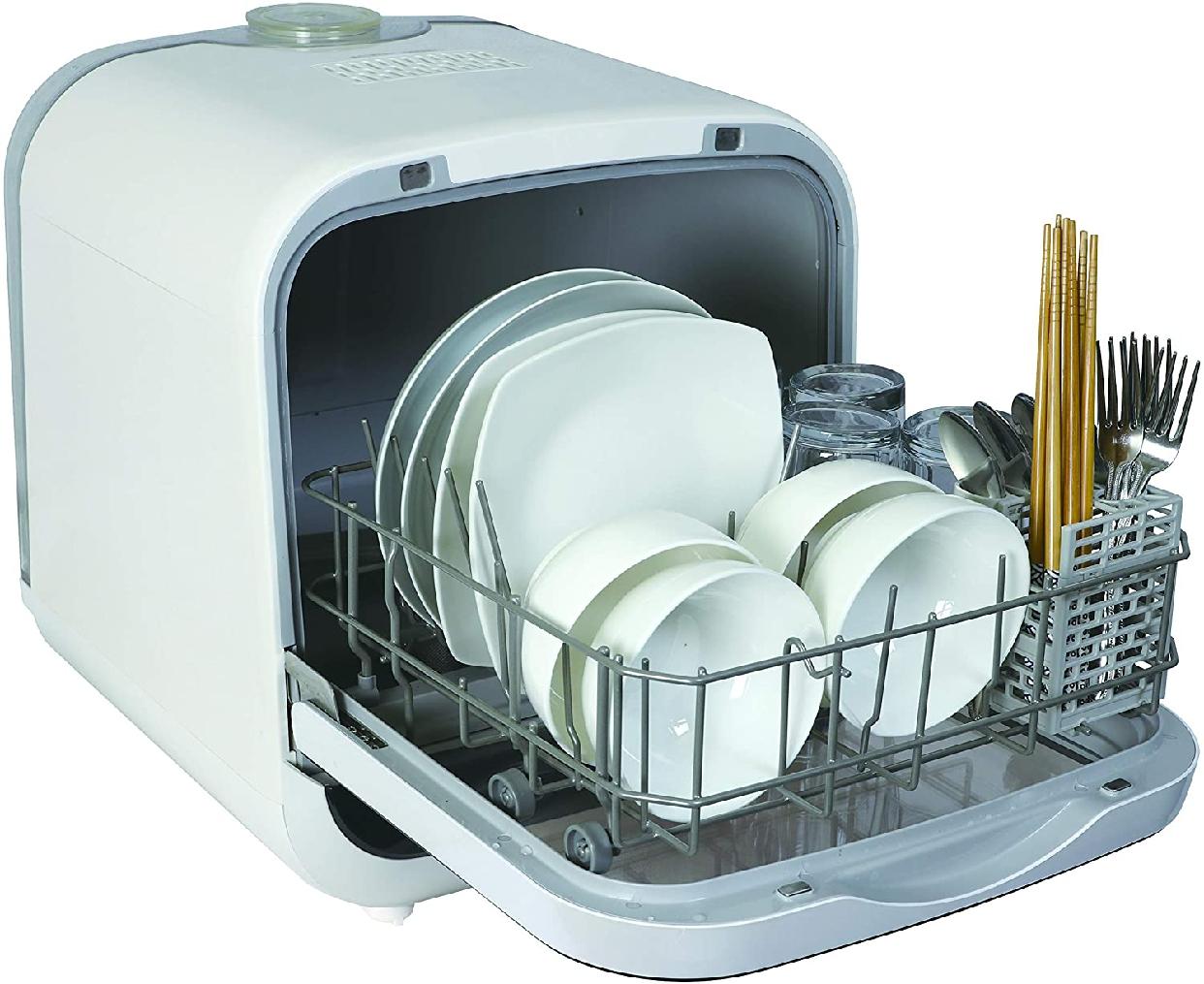 SK Japan(エスケイジャパン) ジェイム 食器洗い乾燥機 SDW-J5L(W)の商品画像3