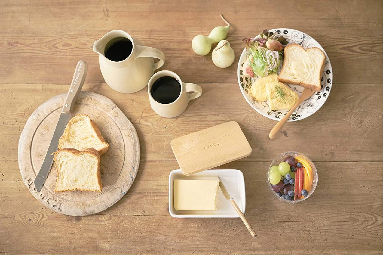 山崎実業(やまざきじつぎょう)バターケース トスカ 3926の商品画像6
