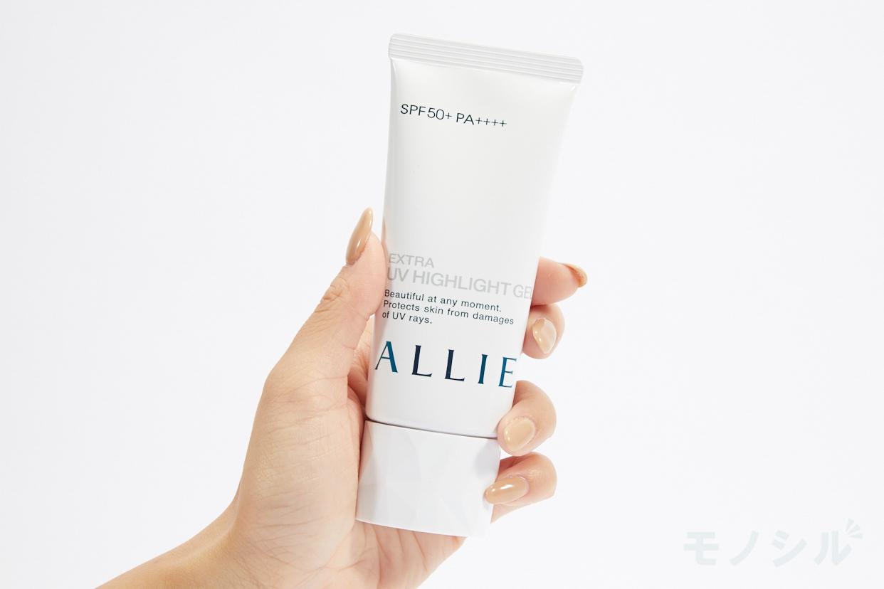 ALLIE(アリィー) エクストラUV ハイライトジェルの商品画像2 商品中身(個包装のパッケージ)