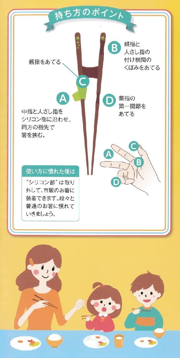 イシダ ちゃんと箸 16.5cmの商品画像9