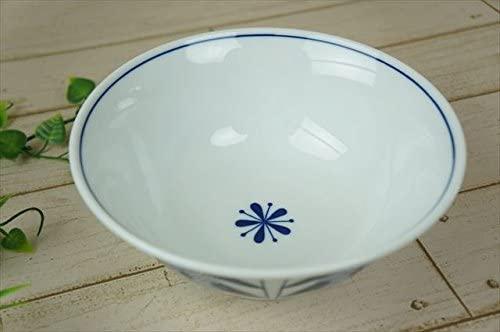 KitchenMartD-まちのうつわ屋さん- オーランド うすかる  麺鉢 19cm 藍色の商品画像5