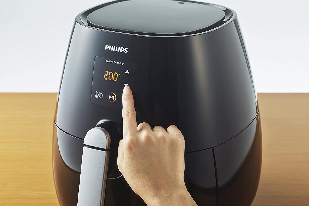 Philips(フィリップス)ノンフライヤープラス ダブルレイヤーセット HD9531/22の商品画像6