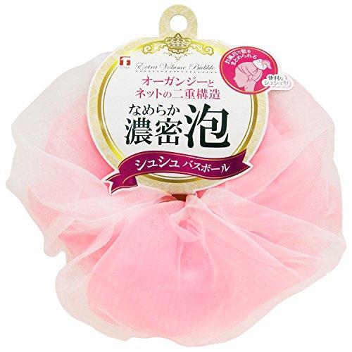 TOWA(とうわさんぎょう)泡立てネット シュシュ バスボールの商品画像