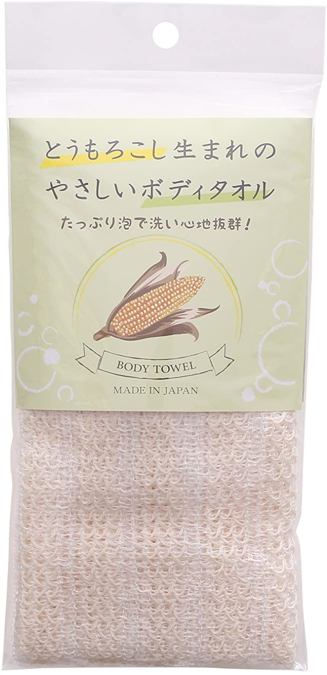 Zenmi(ゼンミ)トウモロコシ生まれのボディータオルの商品画像
