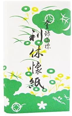 利休懐紙本舗(リキュウカイシホンポ) 利休懐紙(男性用)30枚の商品画像
