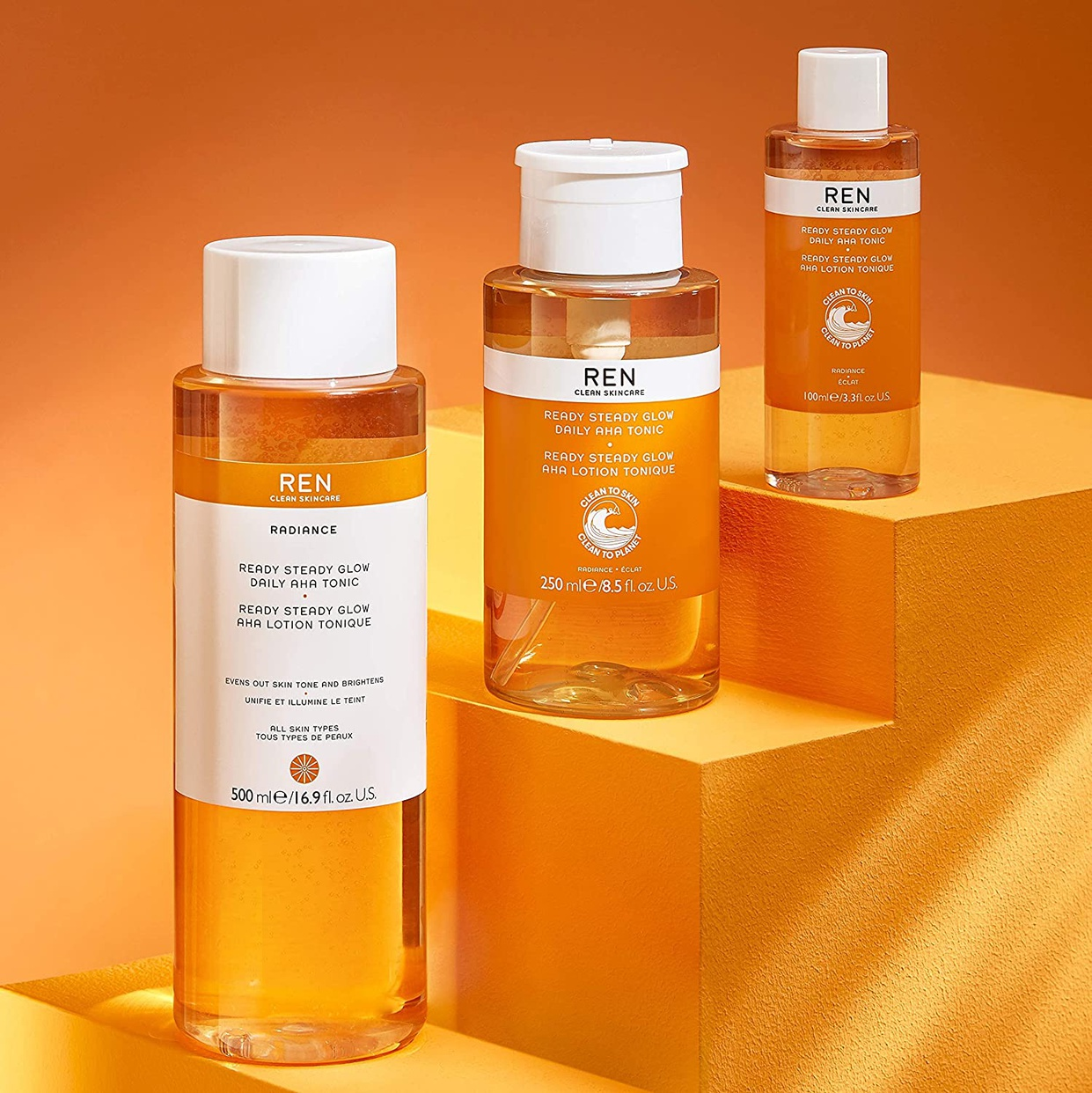 REN Clean Skincare(レンクリーンスキンケア) レディー ステディー グロー デイリー AHA トニックの商品画像9
