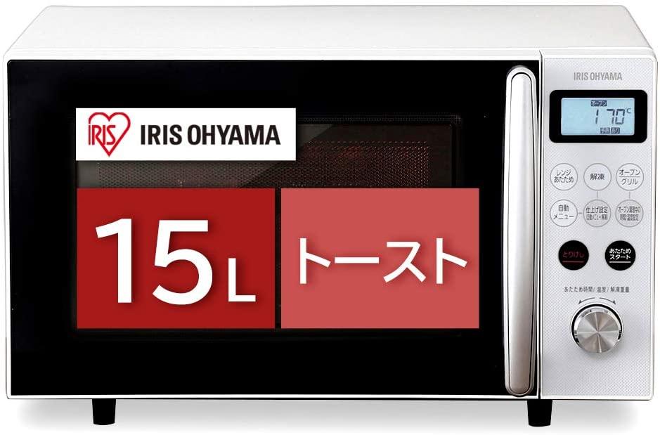 IRIS OHYAMA(アイリスオーヤマ) オーブンレンジ MO-T1501の商品画像