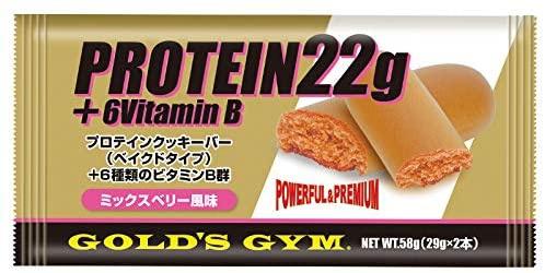 GOLD'S GYM(ゴールドジム) プロテインクッキーバーの商品画像