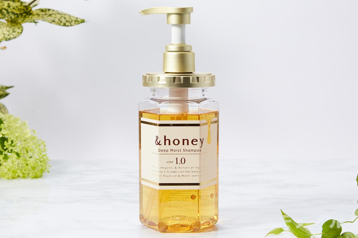 &honey(アンドハニー)ディープモイスト シャンプー1.0