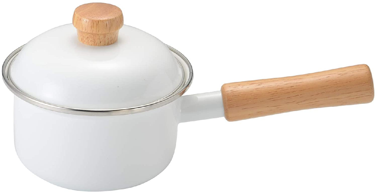 富士ホーロー(富士ホーロー)ソースパン 12cm ホワイトの商品画像