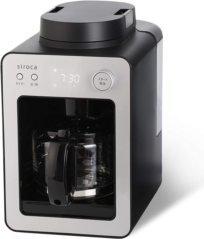 siroca(シロカ)全自動コーヒーメーカー カフェばこ SC-A351の商品画像
