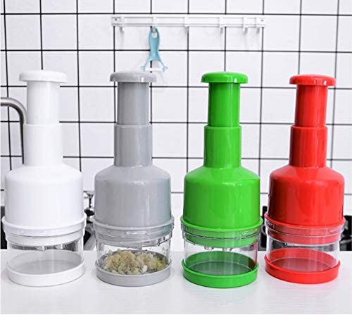 MiXXAR(ミキサー)みじん切り器 野菜 押すだけでみじん切り プレスカット チョッパー 手動 緑の商品画像5