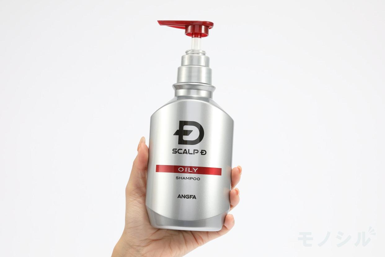 SCALP D(スカルプD) 薬用スカルプシャンプー オイリー 脂性肌用の手持ちの商品画像