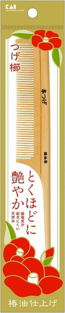 貝印(KAI) つげ櫛 KQ3126の商品画像
