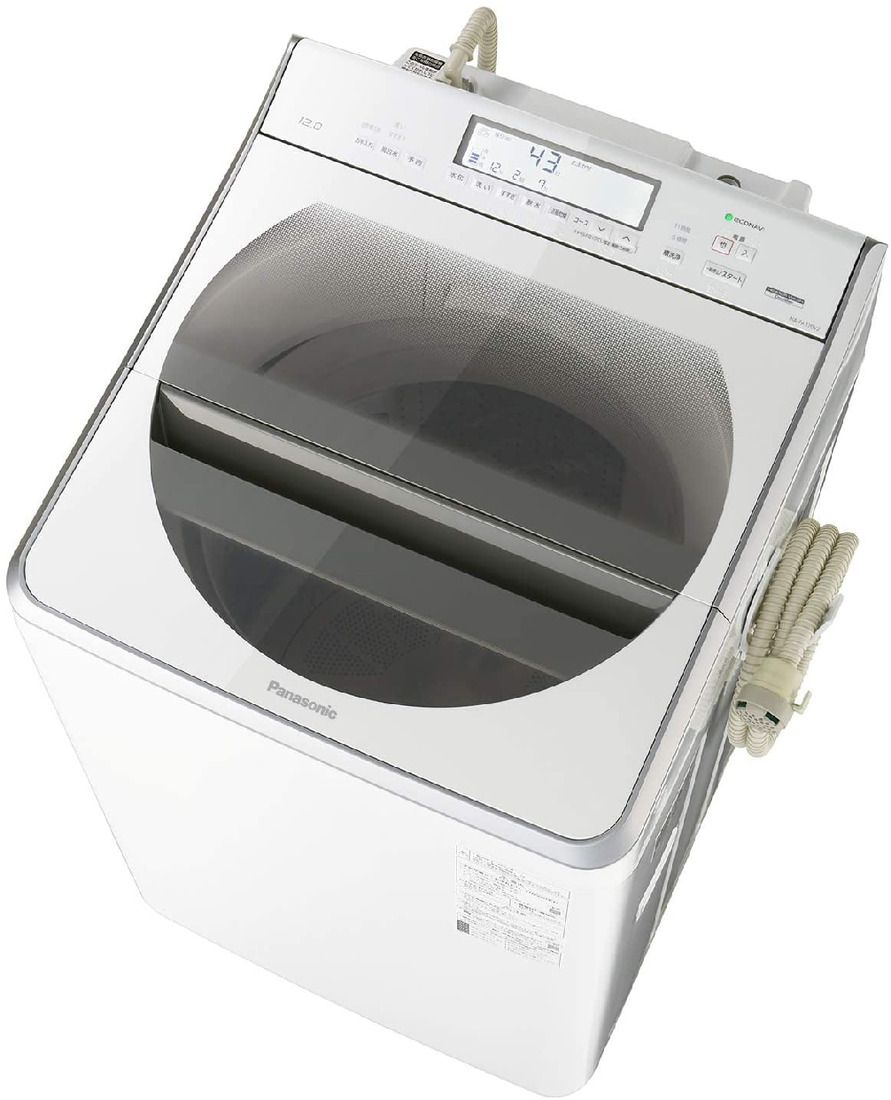 Panasonic(パナソニック) 全自動洗濯機 NA-FA120V2の商品画像2