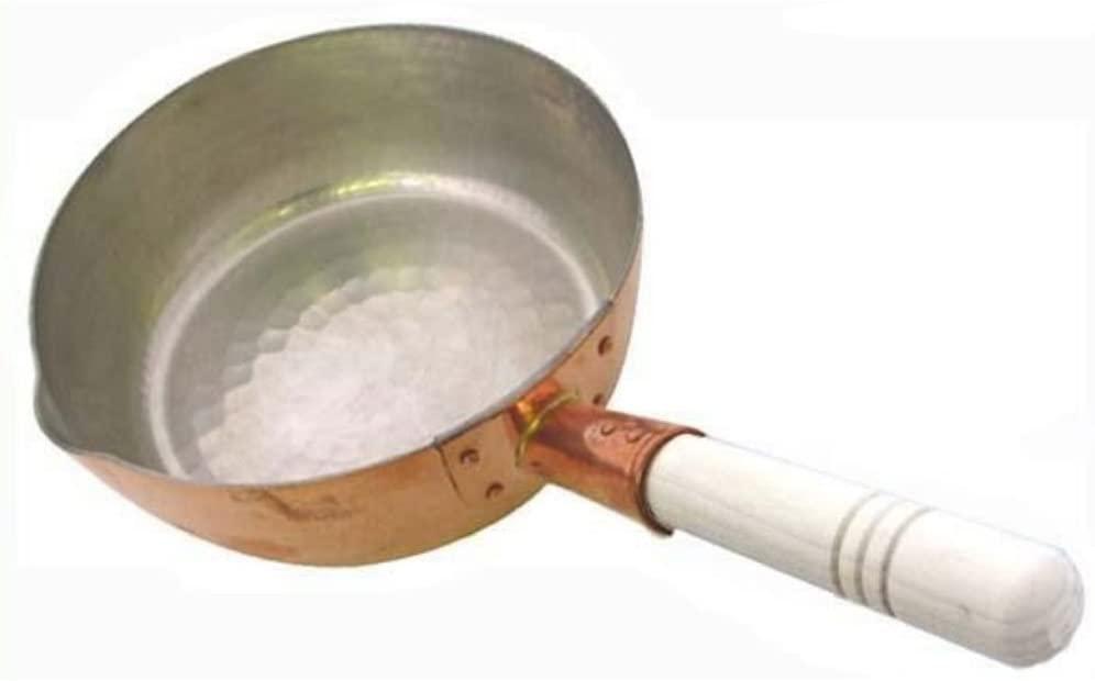 中村銅器製作所 銅製 行平鍋 18cm ゴールドの商品画像