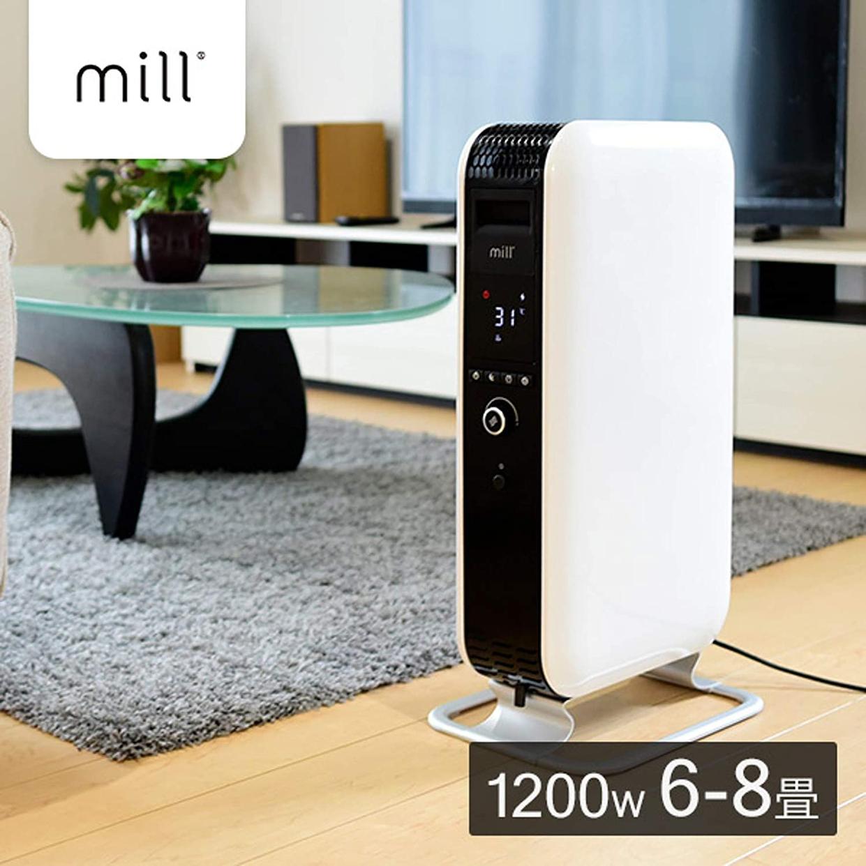 山善(YAMAZEN) Mill オイルヒーター YAB-H1200TIMの商品画像2