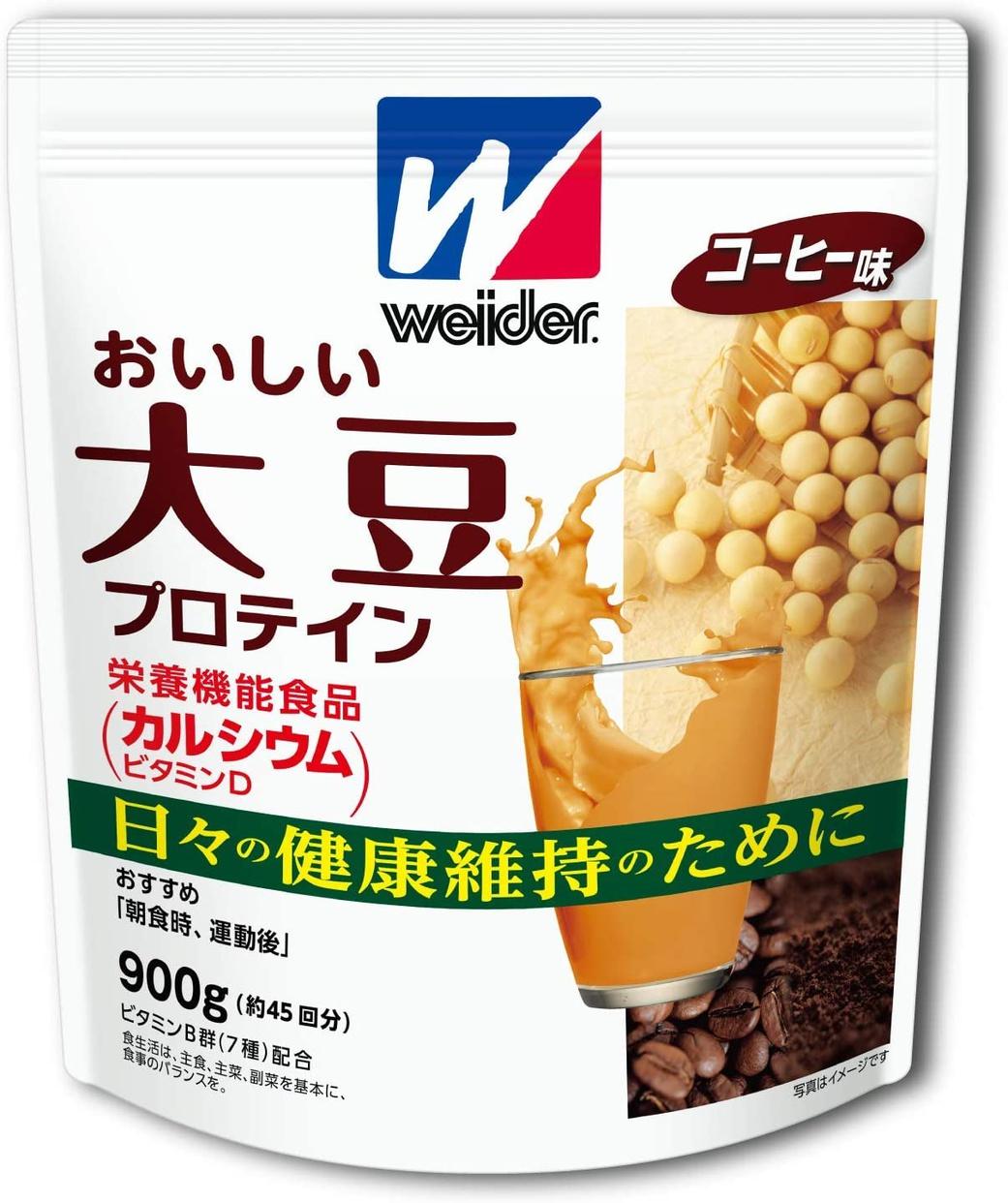 weider(ウイダー) おいしい大豆プロテインの商品画像