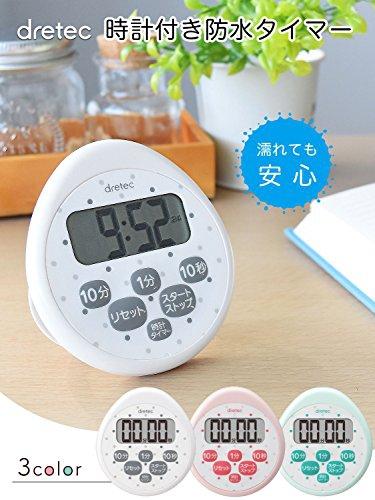 dretec(ドリテック) 時計付防水タイマー T-565の商品画像2