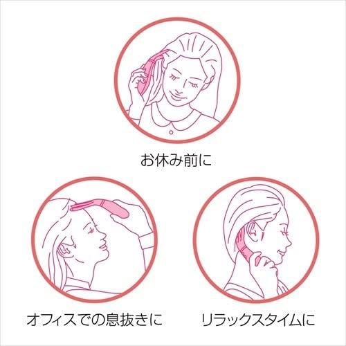 ATEX(アテックス)温感頭皮エステ ふるえとあつ子 AX-KX522pkの商品画像5