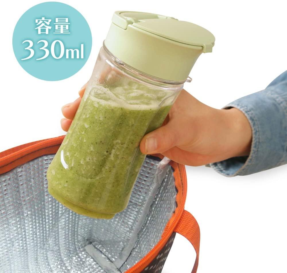IRIS OHYAMA(アイリスオーヤマ) ボトルブレンダー PBB-330の商品画像3