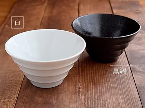TABLE WARE EAST.(テーブルウェアイースト) どんぶり台形 ボーダー 黒耀 19cmの商品画像8