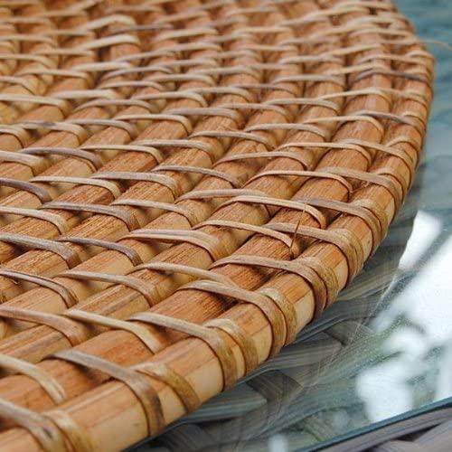 アジア工房(アジアコウボウ)ラタン編みランチョンマット[円形40cmタイプ][7563]の商品画像3