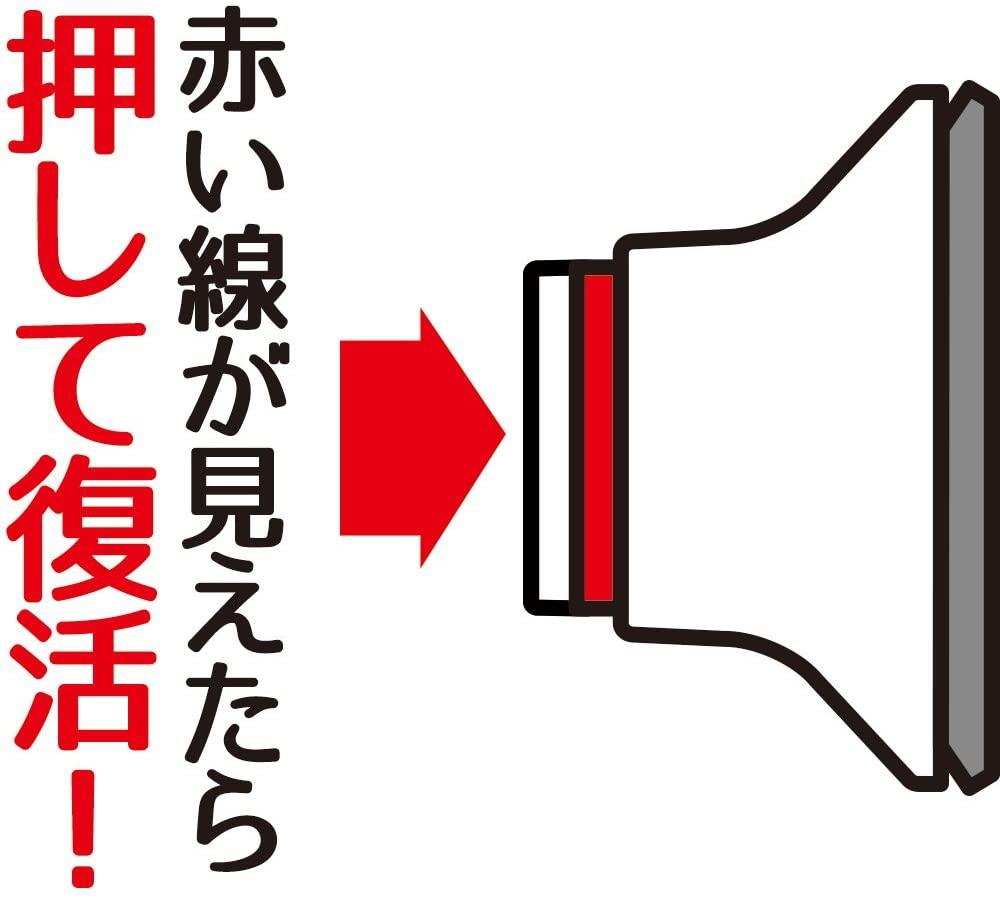 LEC(レック)あら便利 3本ふきん掛け プッシュ式吸盤タイプの商品画像3