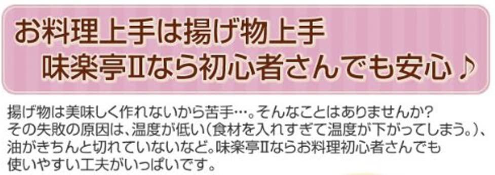 YOSHIKAWA(ヨシカワ) 味楽亭II  フタ付き天ぷら鍋20cm(温度計付) シルバー SJ1024の商品画像3