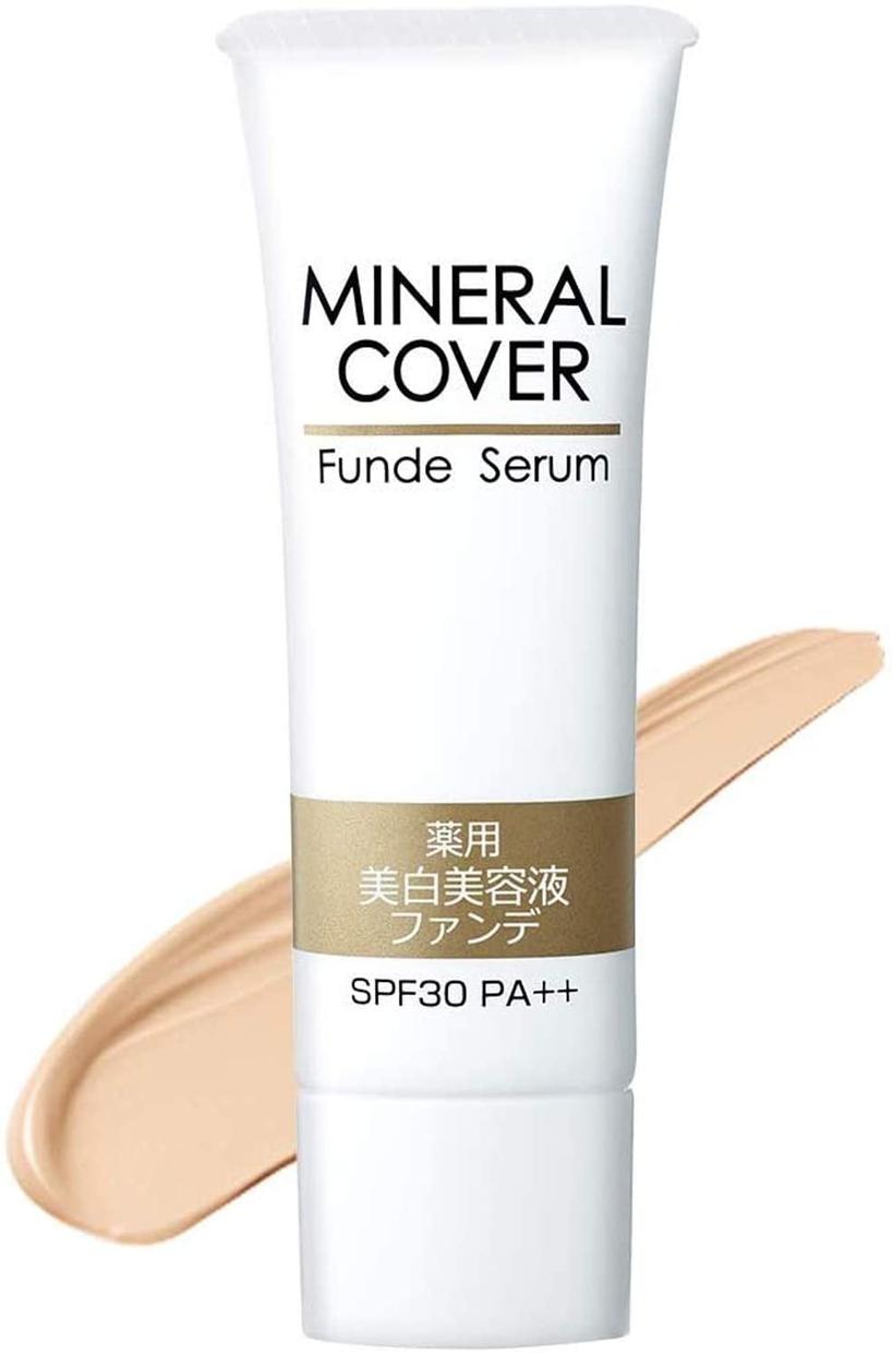 MINERAL COVER(ミネラルカバー)薬用美白美溶液ファンデ