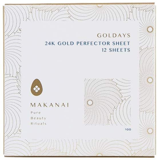 MAKANAI(マカナイ) 金箔シート艶肌マスク