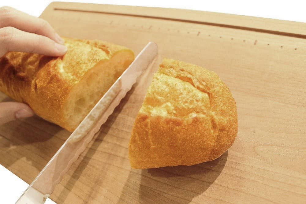 Kai House SELECT(カイハウスセレクト)焼きたてパンのためのパン切り AC-5011 シルバーの商品画像6
