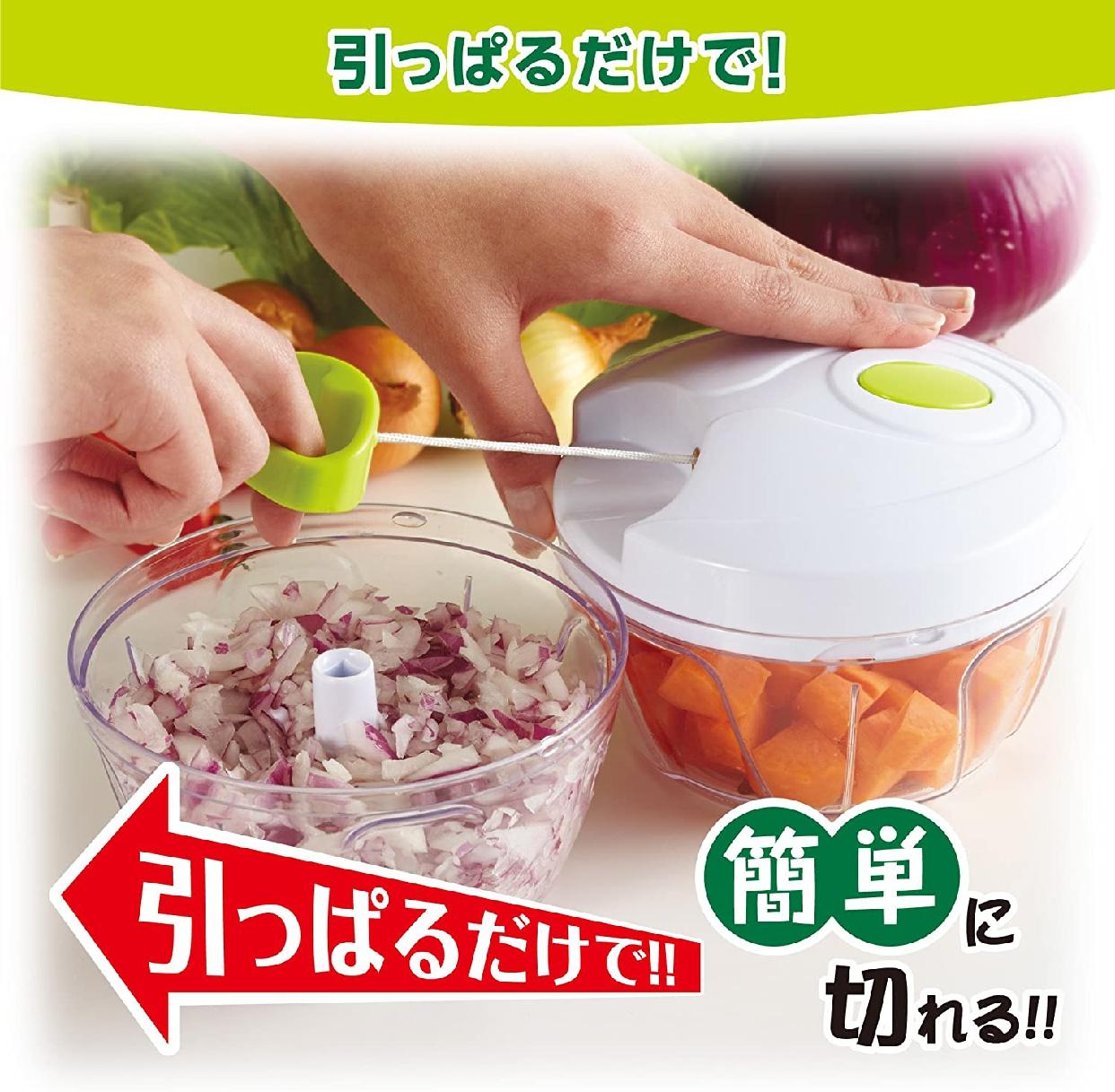 竹原製罐(たけかん)簡単みじん切りチョッパー A-80 ホワイトの商品画像3