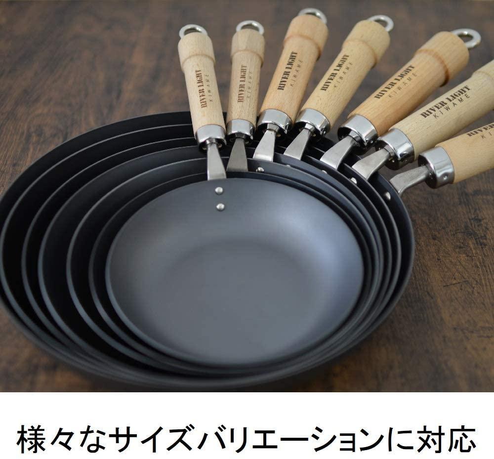 RIVER LIGHT(リバーライト) 極JAPAN IH対応 鉄製フライパンの商品画像3