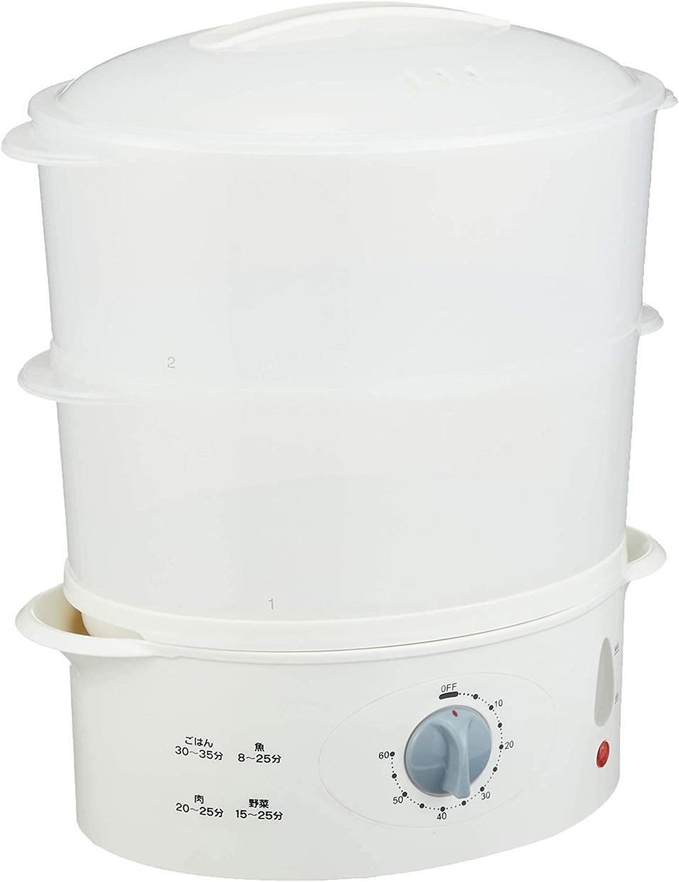 三ツ谷電機 電気蒸し器 蒸し一番 MST-750の商品画像